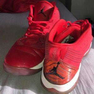 Air Jordan Velocity Gym Red White Black 6.5Y